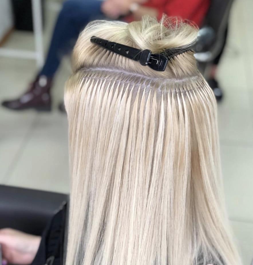 Наращивание волос картинки ленточное
